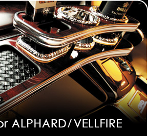 D.A.D FRONT TABLE for ALPHARD/VELLFIRE