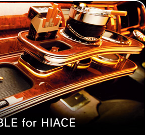 D.A.D FRONT TABLE for HIACE